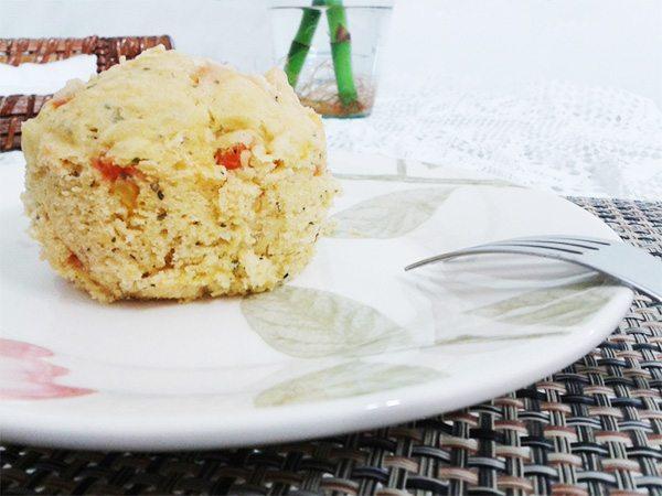 Muffin de Microondas Vegano.